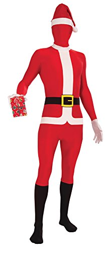 8 Weihnachtsmann Kostüm, Weiß ()