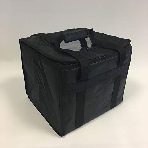 Isolierte Nahrungsmitteltasche für Essen zu Mitnehmen, z B. Lieferung von Chinesisch, Indisch, Pizzen, thermisch T16