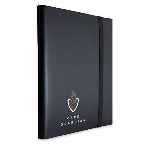 360 Tasche totali con Apertura Laterale Vault X Raccoglitore Rosso Album con Buste a 9 Tasche per Carte da Gioco collezionabili