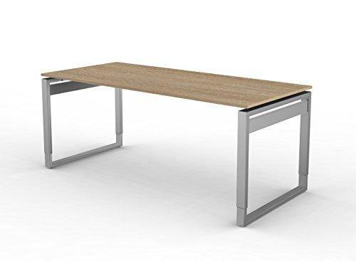 Kerkmann 4082da scrivania forma 5, cinghia tracolla della struttura in legno di rovere
