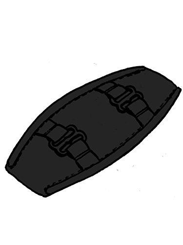 Designer-bh-träger (ulla Schulterpolster U10, paar, schwarz-black-noir)