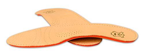 Schuheinlagen, Einlegesohlen Leder, Orthopädische Einlagen, Relax Shock Absorber Pecari - 46