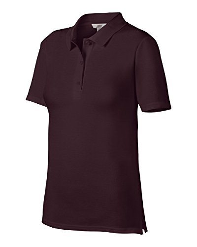 Anvil - 6280L - Polo Femme Rouge (Marron)