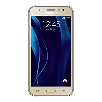 "Samsung Galaxy J5 (2016) - Smartphone de 5.2"" (WiFi, Bluetooth, memoria interna de 16 GB, cámara de 13 MP, 4G, Android) dorado"