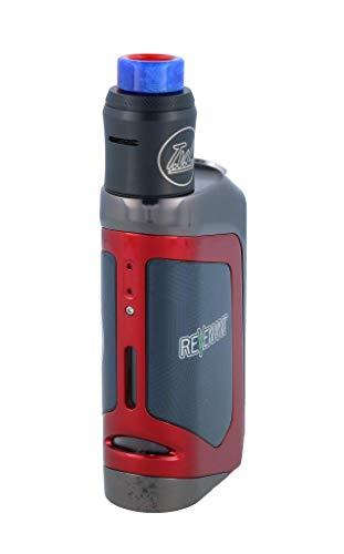 Delta E-Zigarette mit Reload RDA Tank - max. 100 Watt - von Revenant Vape - Farbe: rot -