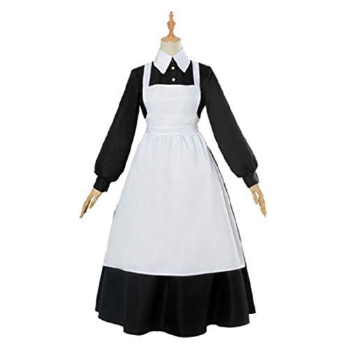 YKJ Anime Charaktere Spiel Cosplay Mutter Cosplay Weibliche Halloween-Kostüm,Black-L (Anime Weiblichen Charaktere Kostüm)