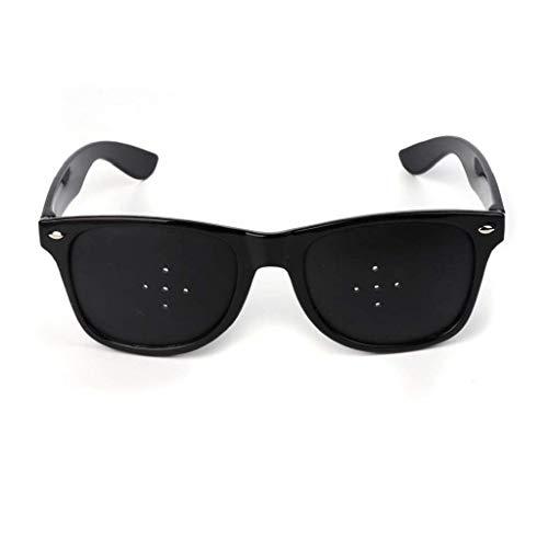 Sehkorrektur Brille verbessert Brillen, 5-Loch-Glas-Anblick Verbesserte Loch Brille Anti-Fatigue Brille Sicherheit Swap Wraparound Hybrid Augensicherheit