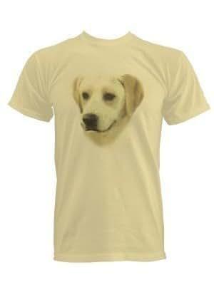 Golden Labrador Men's Yellow T-Shirt
