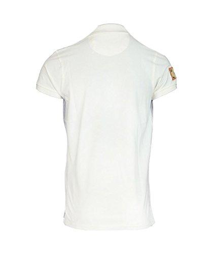 Petrol Industries Herren Poloshirt Polo Weiß