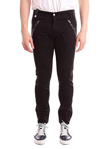 Alexander McQueen Herren 520168Qlz7g0901 Schwarz Baumwolle Jeans