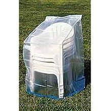 Provence Outillage 02521- Juego de 6 fundas para silla, transparente