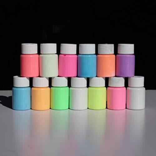 Resplandor de acrílico luminoso de pintura de graffiti impermeable sin olor, no tóxico, superior