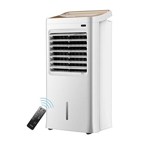 Preisvergleich Produktbild Ventilatoren Mobile Klimaanlagen mit Kühlung,  Heizung und Lüfterfunktion Lüfter Silent Fan Wasserkühler Luftbefeuchter Fernbedienung für Home und Office und Restaurant 75W mit Sleep-Modus
