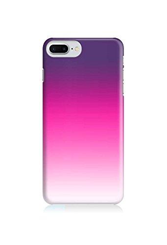 COVER Ombre Farbverlauf lila pink weiß Handy Hülle Case 3D-Druck Top-Qualität kratzfest Apple iPhone 6 Plus
