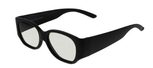 EX3D Eyewear TH0001 passive 3-D Brille schwarz