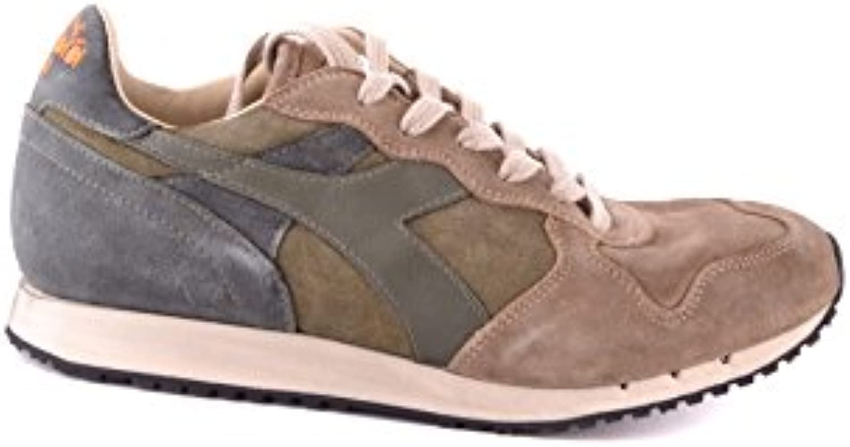 Diadora Heritage Herren MCBI094036O Beige Wildleder Sneakers