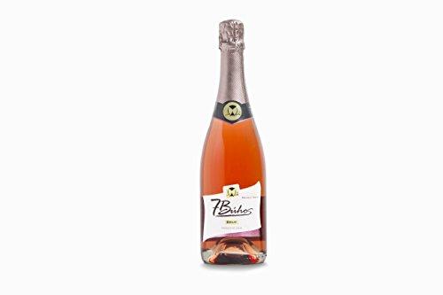Vino spumante cava brut rose trepat 7 bÚhos - 750 ml