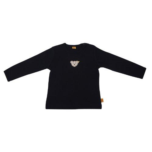 Steiff Unisex - Baby Sweatshirt 0006671, Gr. 62, Blau (3032)
