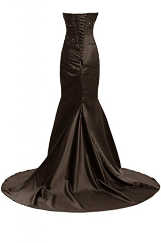 Sunvary Bella sirena abito da sera lungo Pageant-Costume da ufficiale, Donna Marrone