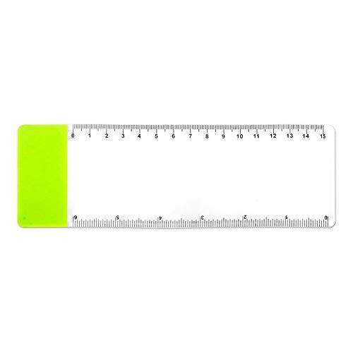 JER Kreative Lesezeichen Lupe Multi Verwendung Pocket Lineal Tragbare Blatt Vergrößerungs Lense...