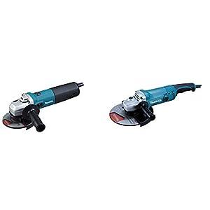 Makita 9565CVR – Mini-Amoladora 125 Mm 1400W 2800-11000 Rpm 2.2 Kg Sjs Sar Makpower + Makita GA9050R – Amoladora 230 Mm 2000W 6600 Rpm 4.8 Kg Sar