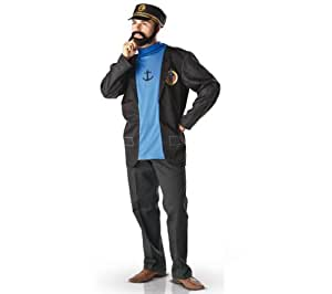 Tintin - I-880494XL - Déguisement - Costume Adulte - Capitaine Haddock - Taille XL