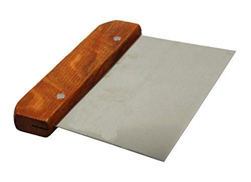 Coupe-pâte, grattoir à manche en bois Popuro (TM)
