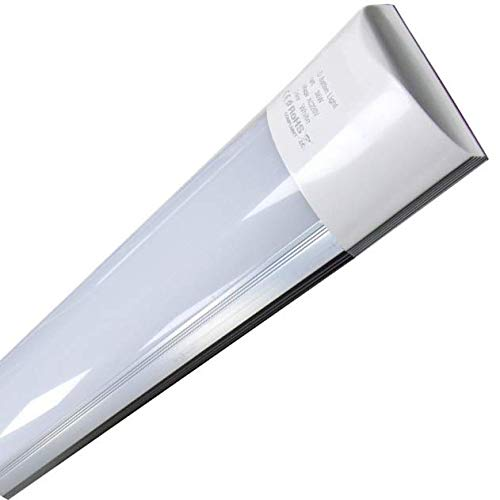 Led Atomant Luminaria Led de Superficie, 40 W, Blanco Frío 6500K, 120 cm
