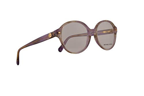 Michael Kors MK4041 Kat Eyeglasses 51-17-135 Purple Floral w/Demo Clear Lens 3233 MK 4041