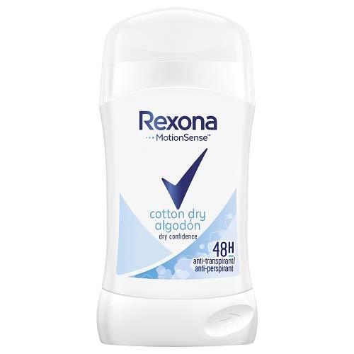 Rexona - Cotton Dry Cotton, Deo-Stick für Damen, 6er Pack (6 x 40 ml)