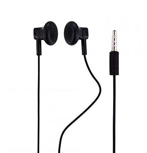 ORIGINALE NOKIA Headset in Nero per MICROSOFT LUMIA 640Cuffie Auricolari a forma di tappi per le orecchie 3,5mm spina suono stereo NOKHB3in confezione bulk