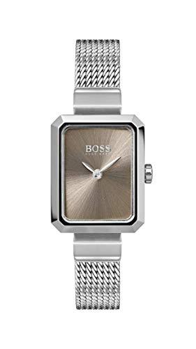 Hugo Boss Watch Reloj Analógico para Mujer de Cuarzo con Correa en Acero Inoxidable 1502431