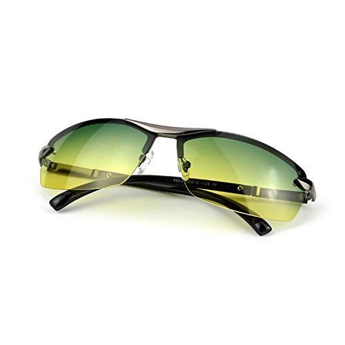 Somedays Polarisierte Sport-Sonnenbrille, Tag Nacht Dual-Zweck-Sportbrille Für Frauen Und Männer, Sport-Augenschutzbrille Anzug Zum Laufen Radfahren Angeln Golf