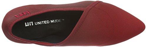 United nude Fold Lite Mid, Escarpins femme Rouge - Rot (Wine Fade)