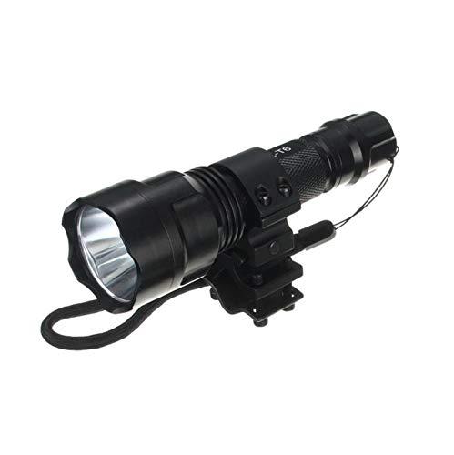 Scope Flashlight Barrel & Picatinny-Schienenhalterung für SureFire Light Universal LED Taschenlampe Wasserfest Außenbeleuchtung Flashlight Arbeitslicht Surefire Mini
