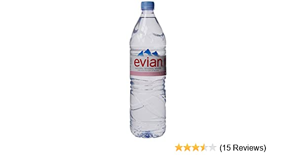 Evian Natural Mineral Water 1 5 Litre