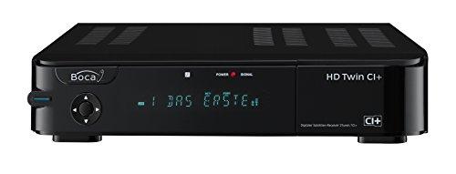BOCA HD Twin CI+ Festplatten Sat Receiver Twin-Tuner HDTV 1000 GB schwarz