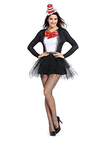 Fanessy. Sexy Catwoman Kostüm Set für Damen Cat Girl Kostüm Catsuit Schwarz Katze Cosplay Verkleidung Outfits für Fasching Halloween Karneval Party (Halle Berry Kostüm)