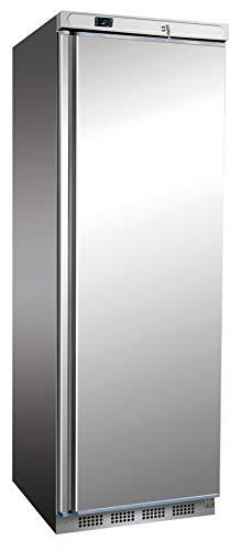 Congelador de acero inoxidable de 400 litros