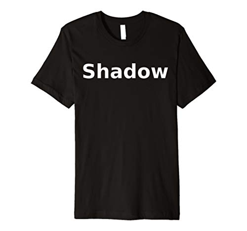 Shadow T-Shirt. Board Game Role Playing LARP Halloween RPG