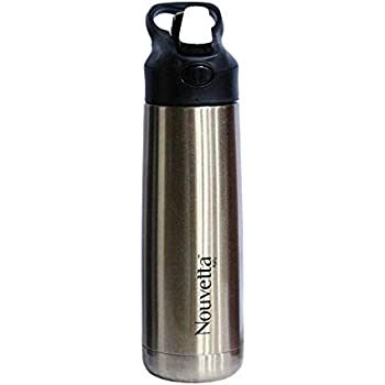 Nouvetta Steelvo Stainless Steel Double Wall Bottle, 550 ml, Gold
