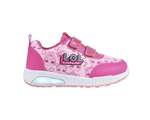 L O L Surprise! | Mädchen Schuhe Sneakers | Leuchten Sie Design-Schuhe! | Der Neueste Trend! | Schimmernde Glitzernde Schuhe! | Eye Spy Limitierte Auflage! | EU 33 |