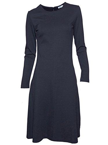 filippa-k-vestido-trapecio-basico-manga-larga-para-mujer-6419-coal-s
