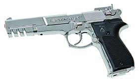 Pistole Terminator 25er (Terminator Kostüm)