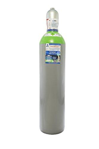 Schutzgas 18 / Neue 20 Liter Flasche/Schweißgas zum MAG Schweißen/Mischgas 18 / Eigentumsflasche, gefüllt mit CO2 (18%) & Argon (82%) / 10 Jahre TÜV ab Herstellung/EU Zulassung - made in EU