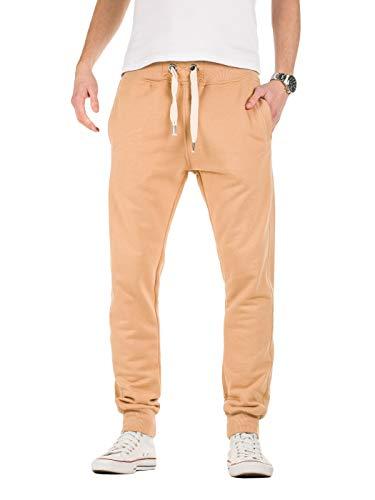 Pantalones amarillos deportivos de chándal para hombre