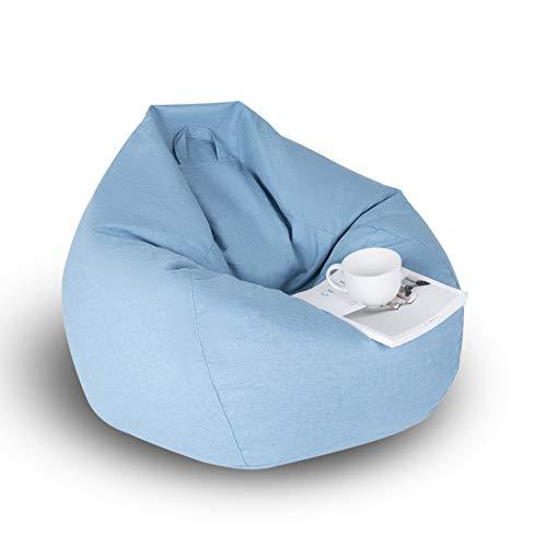 Pandure - Fodera per Pouf, Blue, XL-100x120CM