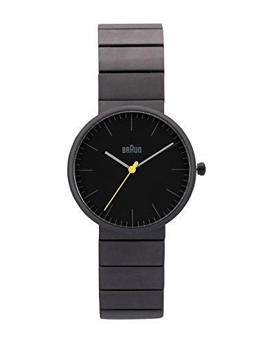 Braun BN0171BKBKG - Reloj de cuarzo unisex, correa de cerámica color negro