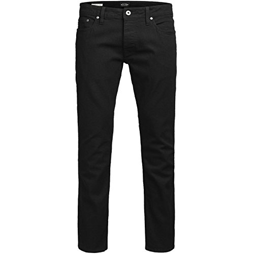Jack & Jones Jeans Herren Mike Glenn TIM Hose Blau Black Schwarz Elasthan Knienaht Destroyed Neu Tim 013