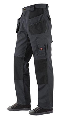 Lee Cooper Workwear Holster Pocket Trouser, 36R, grau, LCPNT216 (Kurze Pocket Workwear)
